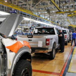 FORD AND GENERAL MOTORS confirmed that all their North American factories will close temporarily. / AP FILE PHOTO CARLOS OSORIO