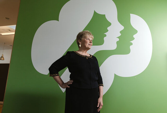 SCOUT'S HONOR: Girl Scouts of Southeastern New England CEO Pam Hyland had to face various challenges, such as moving programming to virtual means due to the COVID-19 pandemic, in order to keep the organization moving forward. / PBN PHOTO/RUPERT WHITELEY