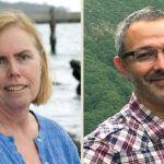 ENVIRONMENTAL IMPACT: Jenn McCann and Andrew Lipsky will discuss the impact of offshore-wind installations on marine habitats on June 15. / COURTESY JENN MCCANN AND ANDREW LIPSKY