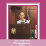PEG LANGHAMMER, executive director for Day One, has been named the Career Achiever for Providence Business News' 2020 Business Women Awards program. / PBN SCREENSHOT
