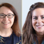 SELF DEFENSE: Kathleen Malin, left, and Tricia King will be featured in a Tech Collective webinar on Sept. 15 aimed at preventing cyberattacks. / courtesy Kathleen Malin AND Tricia King