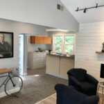FULL REVAMP: The building was revamped inside and out, giving it a brand-new appearance. The interior was upgraded with fresh paint and design improvements. The refurbishment incorporated a modern, nautical design. / PHOTOS COURTESY COLDWELL BANKER/JIM CAHOONE