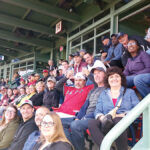 PLAY BALL: Connectivity Point Design & Installation LLC employees take in a baseball game at Fenway Park in Boston. COURTESY CONNECTVITY POINT DESIGN & INSTALLATION LLC