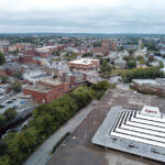 THE CITY OF PAWTUCKET has made preliminary moves to enable the use of eminent domain over the five privately-owned parcels that constitute the Apex site in Downtown Pawtucket. / PBN FILE PHOTO/ARTISTIC IMAGES