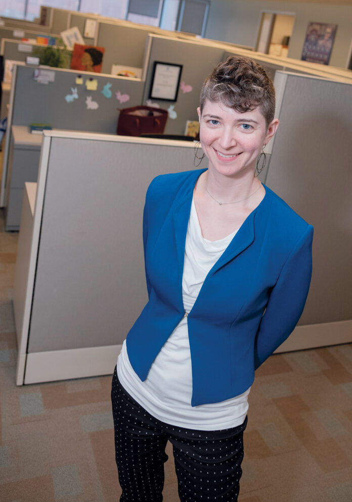 STEPHANIE HUCKEL, senior global program manager of diversity and inclusion for International Game Technology PLC, has been named the Overall Diversity Champion for Providence Business News' 2020 Diversity & Inclusion Summit and Awards program. /PBN FILE PHOTO/MICHAEL SALERNO