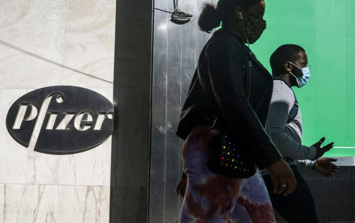 PFIZER SAID that it is asking U.S. regulators to allow emergency use of its COVID-19 vaccine, starting the clock on a process that could bring limited first shots as early as next month and eventually an end to the pandemic - but not until after a long, hard winter. / AP FILE PHOTO/BEBETO MATTHEWS