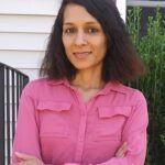 KAUSHALLYA ADHIKARI, a URI assistant professor of electrical engineering, received a Young Investigator Award this year from the Office of Naval Research, which she will use to research sonar systems. / COURTESY UNIVERSITY OF RHODE ISLAND