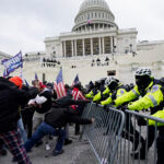 DOZENS OF PEOPLE have breached security perimeters at the U.S. Capitol. / AP FILE PHOTO/JULIO CORTEZ