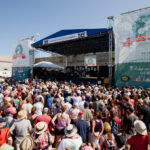 LARGE-SCALE EVENTS, such as the Newport Folk Festival, pictured, could help the city of Newport have a brighter summer after the COVID-19 pandemic significantly hampered the city's economy last year. / COURTESY DOUG MASON