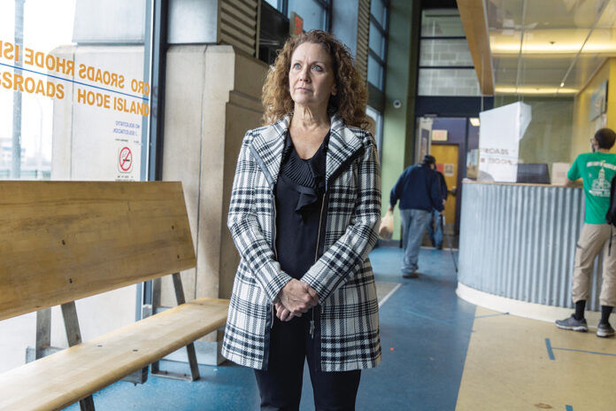 Karen Santilli joined the social service agency Crossroads Rhode Island in 2008 and became the nonprofit's CEO and president in 2015. / PBN FILE PHOTO/RUPERT WHITELEY