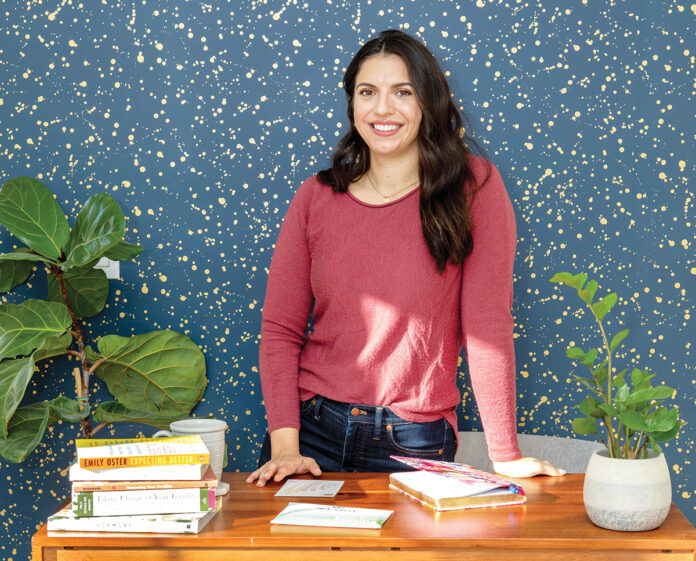 PROVIDING ANSWERS: Kate Naranjo launched the Bird & Bee startup last year to help women better understand their body when it comes to fertility, hormonal, postpartum and overall health.  / PBN PHOTO/KATE WHITNEY LUCEY