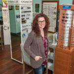 STAYING SHARP: Lori Duquette, owner of Duquette Family Eye Care Inc., says her upbringing in a large family taught her skills that have helped her run her own business. / PBN FILE PHOTO/MICHAEL SALERNO