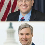 CHAMBER CHATTER: From top, Rep. David Cicilline, Rep. James Langevin, Sen. Sheldon Whitehouse and Sen. Jack Reed will be part of the Greater Providence Chamber of Commerce's 2021 Rhode Island Congressional Forum on June 7. COURTESY DAVID CICILLINE/JAMES LANGEVIN/SHELDON WHITEHOUSE/JACK REED