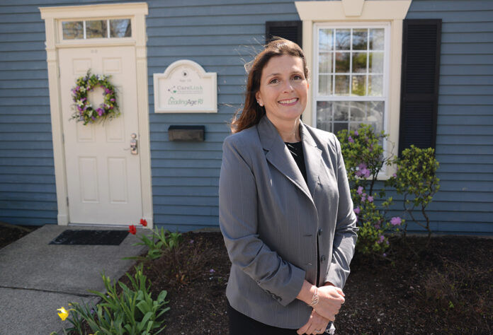 PATIENT-FOCUSED: Throughout her various leadership roles, Christine Gadbois, now the CEO of CareLink Inc., has worked to expand health care access to patients. At her initiative, CareLink recently developed a psychiatry consultation program for nursing home and group home residents. / PBN PHOTO/ELIZABETH GRAHAM