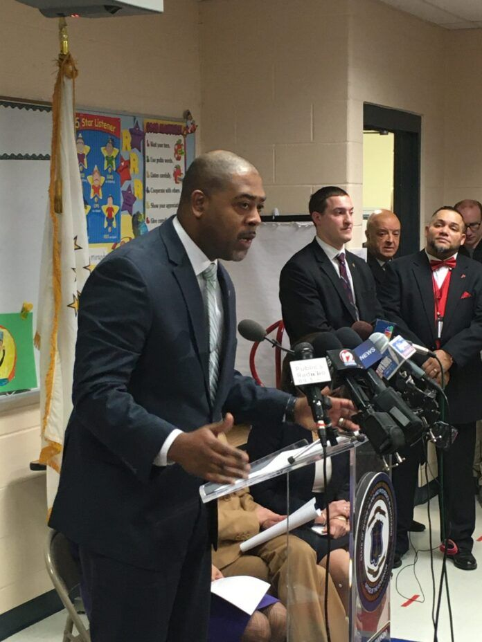 HARRISON PETERS has been asked to resign as Providence superintendent of schools by R.I. Education Commissioner Angelica-Infante Green. / PBN FILE PHOTO/JAMES BESSETTE