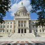 THE R.I. STATEHOUSE will reopen to the public and employees on a limited basis June 1. / PBN FILE PHOTO / NICOLE DOTZENROD