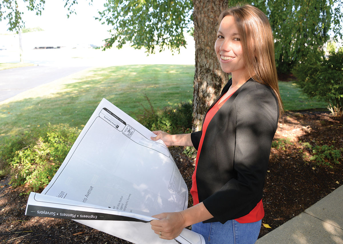 EMPOWERED: Sheryl Guglielmo, senior project manager for DiPrete Engineering Associates Inc., joined the civil engineering firm as an architect but has worked her way up to become a senior project manager. / PBN FILE PHOTO/ELIZABETH GRAHAM