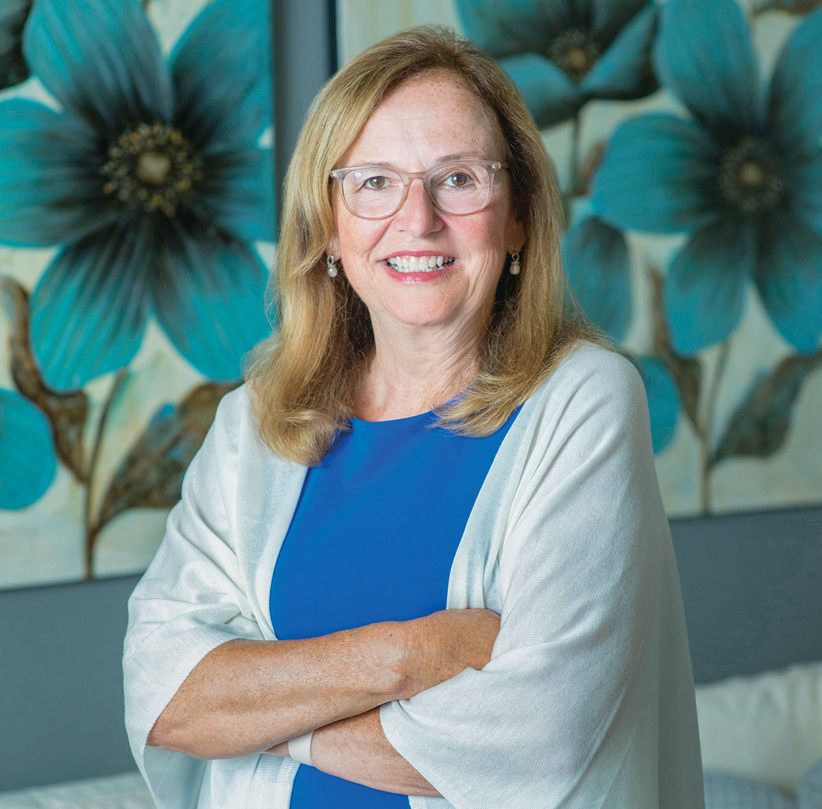 """EARLY CALLING: Brenda Seagrave-Whittle, chief marketing officer at Neighborhood Health Plan of Rhode Island, says she knew from an early age that she was """"born to protect, support and advocate for people"""" and that her purpose in life was to """"stand up for others and give them a voice."""" / COURTESY HUGHES FIORETTI PHOTOGRAPHY"""