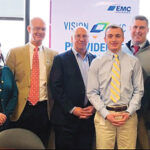 ENCOURAGING VOLUNTEERING: EMC Insurance Cos. encourages its employees to volunteer in the community by offering paid time off to employees who perform such service. / COURTESY EMC INSURANCE COS.