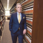 GREGORY W. BOWMAN, dean of the Roger Williams University School of Law, says a new required course for students on race and the law will give students some grounding in the historical perspective of the structures of the law and systemic inequities that exist within the law. / PBN FILE PHOTO/RUPERT WHITELEY