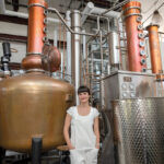 CREATIVE COMMUNITY: Manya Rubinstein, CEO of Industrious Spirit Co., a distillery in Providence, says she was drawn to the city and the closeness and collaborative nature among its artisans. / PBN PHOTO/MICHAEL SALERNO