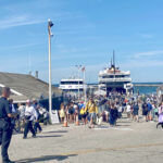 HERE THEY COME: Block Island is expecting a strong summer tourism season, based on the boatloads of tourists already flocking there from the mainland. / PBN FILE PHOTO/K. CURTIS