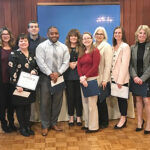 LENDING A HAND: Team members at Westerly Community Credit Union who volunteer their time are entered in a quarterly raffle and the company makes an effort to support organizations the members work with. / COURTESY WESTERLY COMMUNITY CREDIT UNION