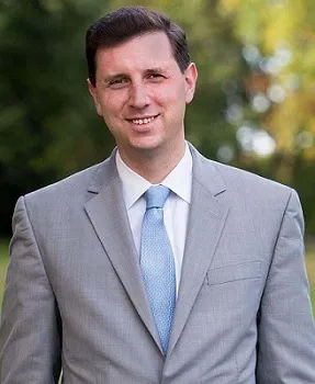 R.I. GENERAL TREASURER Seth Magaziner announced that the Employees' Retirement System of Rhode Island has filed a lawsuit in Delaware against Facebook Co-Founder and CEO Mark Zuckerberg and other top Facebook executives over the 2016 Cambridge Analytical data breach. / COURTESY R.I. OFFICE OF THE GENERAL TREASURER
