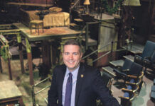 TOM PARRISH will step down as Trinity Repertory Company's executive director in October. / PBN FILE PHOTO/DAVE HANSEN
