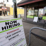 THERE WERE 57,855 Rhode Islanders that collected unemployment benefits last week. / AP FILE PHOTO/ELAINE THOMPSON