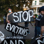 With the end coming soon for a federal moratorium on evictions – a measure put in place amid the coronavirus pandemic – more than a quarter of Rhode Island renters may be at risk of losing their homes, according to a new study. AP FILE PHOTO/MICHAEL DWYER