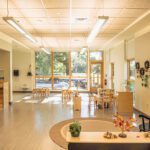 ENERGY EFFICIENT: The new classrooms inside the expanded Little School at Lincoln School have an abundance of natural light. The school does not have gas or oil systems, meaning it will not be producing any on-site combustion and carbon emissions. / COURTESY LINCOLN SCHOOL