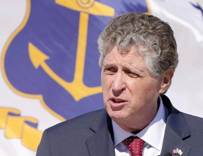 GOV. DANIEL J. MCKEE on Thursday extended Rhode Island's COVID-19 state of emergency declaration through at least Sept. 1. /AP FILE PHOTO/STEVEN SENNE