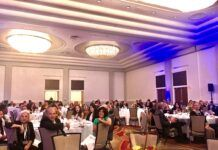 APPROXIMATELY 170 PEOPLE attended Providence Business News' 2021 Fastest Growing & Innovative Companies Awards ceremony held Thursday at the Omni Providence Hotel. / PBN PHOTO/JAMES BESSETTE