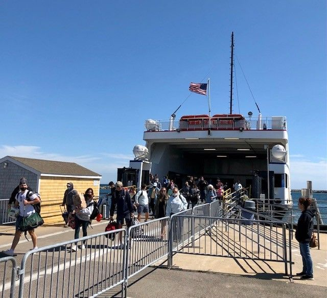 BLOCK ISLAND'S TOP TOURISM official says the summer destination had a great high season in 2021, and the good times are continuing. / PBN FILE PHOTO/CASSIUS SHUMAN