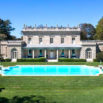 """THE 11,579-SQUARE-FOOT HOME at 626 Bellevue Ave. known as """"Clarendon Court"""" sold for a Rhode Island real estate record-breaking $30 million. / Courtesy Gustave White Sotheby's International Realty"""