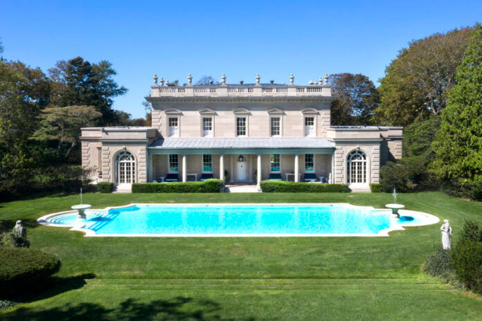 THE 11,579-SQUARE-FOOT HOME at 626 Bellevue Ave. known as