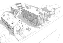 GHASSON DAOU, OF RJR DAOU REALTY, is planning to construct a 4,745-square-foot, 4-story apartment building on a vacant lot at 24 Eighth St. in Providence. He submitted preliminary plans to the Providence City Plan Commission. / COURTESY PROVIDENCE CITY PLAN COMMISSION