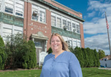 AT THE READY: Eileen Crudele, director of special education at Smithfield Public Schools, says each school has a full-time psychologist, and there are five social workers to handle an uptick in mental health issues among students. / PBN PHOTO/MICHAEL SALERNO