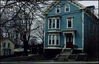 A home on Locust Street,Providence. (Photo, Brian McDonald)