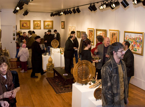 ON DISPLAY: Gallery Z is one of the Providence galleries that have opened their doors for Gallery night to promote themselves. /