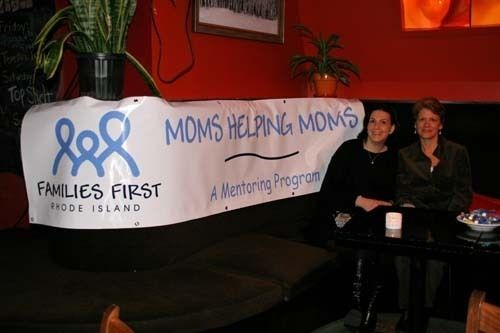 FROM LEFT: Lisa Kirshenbaum and Lisa Hawthorne, board members for Family First Rhode Island. /