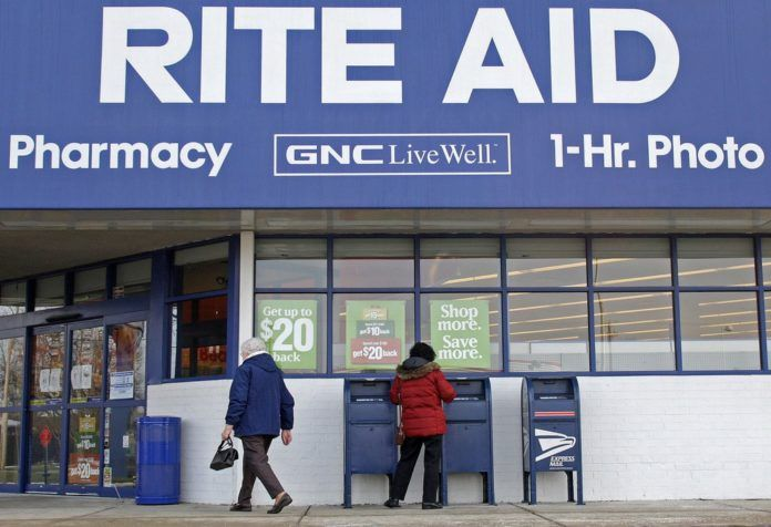 RITE AID, the third-largest U.S. drug store chain, has struggled to deal with reduced store sales and a heavy debt load. /