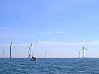 NEW BEDFORD, MASS. and Quonset Point, Rhode Island are being considered as staging port locations for Cape Wind's 130 wind turbines.  /