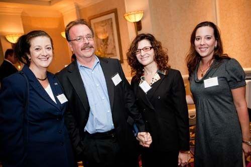 Karen Bannon, Honoree Peter Arpin, Ann Marie Fiske, Sylvia Louro / Rupert Whitely