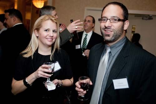 Katie Hart and Gil Latini, Focus Business Solutions.