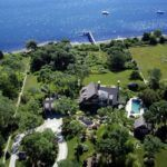 KNOWN AS Daybreak, the home sits on 5.8 acres of land along the East Passage of Narragansett Bay. Built in 2004, the mansion includes five bedrooms, six full baths, one lavette, a gourmet kitchen and a billiard room.  / COURTESY LILA DELMAN