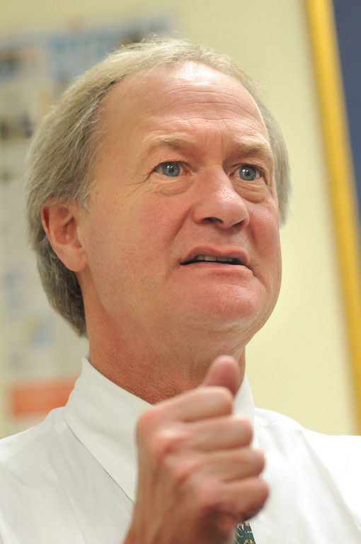 Gov. Lincoln D. Chafee's budget proposal would add rentals to hotel tax.  / PBN FILE PHOTO/FRANK MULLIN