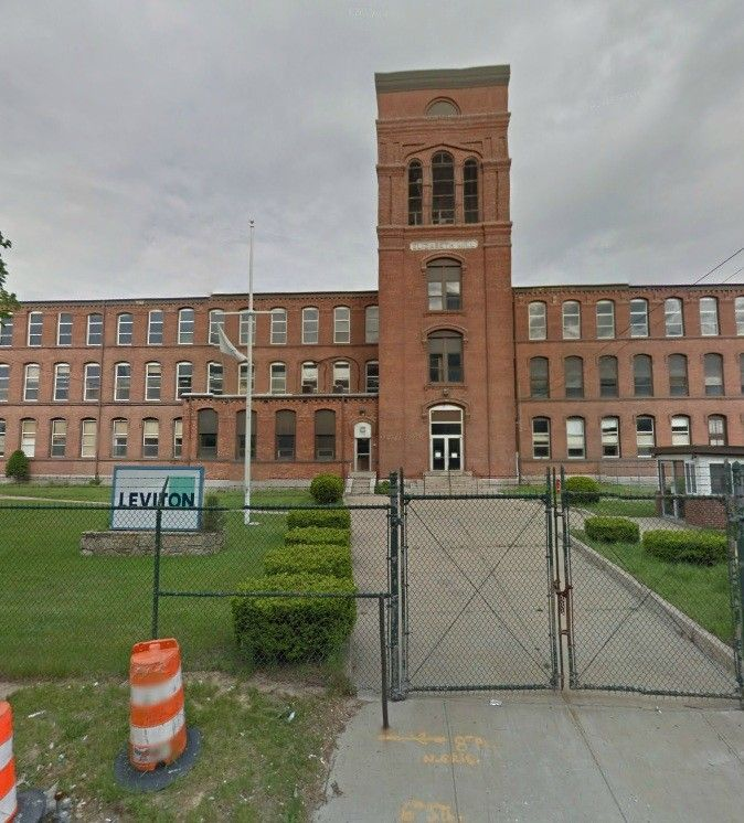 MICHAEL INTEGLIA & CO., along with Warwick and state officials, revealed plans for the 86-acre property in the city's 'Station District' that include redeveloping the 138-year-old Elizabeth Mill across the street from the Interlink intermodal transportation hub. / COURTESY GOOGLE MAPS