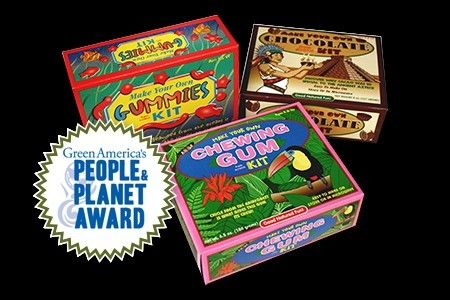 VERVE, INC., the producer of Glee Gum and Make Your Own Candy Kits, won a Summer 2014 People & Planet Award from Green America, and will spend the prize money on a fall gift to teachers.